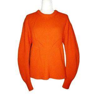 Burberry Sculptural Cashmere Crew Sweater